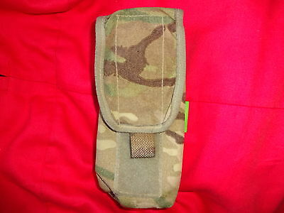 British Army Osprey MK4 SA80 2 Mag / Double Magazine Pouch - MTP - USED GRADE 2