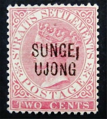 nystamps British Malaya Sungei Ujong Stamp # 24 Mint with Gum H $30