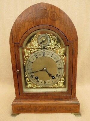 Lovely Antique Winterhalder & Hofmeier Ting Tang Strike Bracket Clock