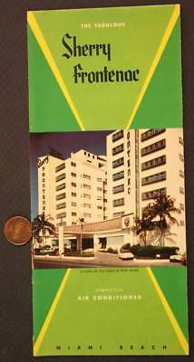 The Corsair Hotel Miami Beach Florida 1940 Brochure 7 99 Picclick