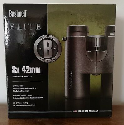 Bushnell Elite 8X42 Ed Binoculars Brand New And Boxed. Current Model.