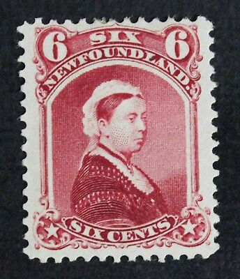 CKStamps: Canada Stamps Collection Newfoundland Scott#36 Mint H OG Tiny Thin