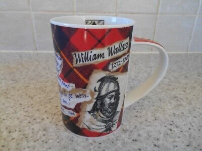 Dunoon Stoneware William Wallace Mug Very Good Condition