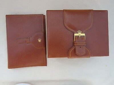 Vintage Rolex Box And Wallet