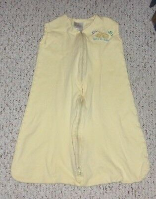 Yellow Halo Wearable Blanket / Sleep Sack, Small or 0-6 months, VGUC