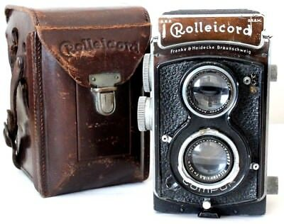 Rolleicord IIa or Model 2 1937 Twin Lens Reflex (TLR) Camera - Franke & Heidecke