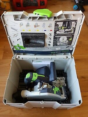 Festool  TS 55 REBQ-Plus GB 240V Circular/Plunge Saw in Systainer 4