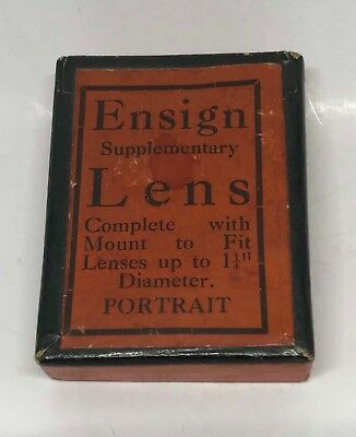Vintage Collectable Ensign Supplementary Lens And Holder