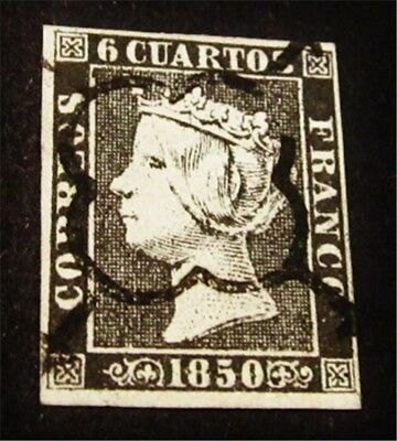 nystamps Spain Stamp # 1 Used