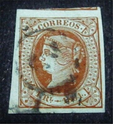 nystamps Spain Stamp # 65 Used $75