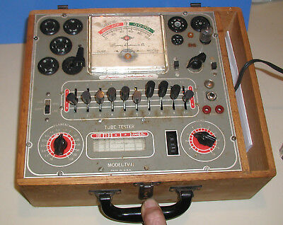 Tube Tester  Precision Model TV-11 AS IS for parts or repair
