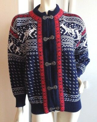 Dale Of Norway Wool Sweater, Sz S/40
