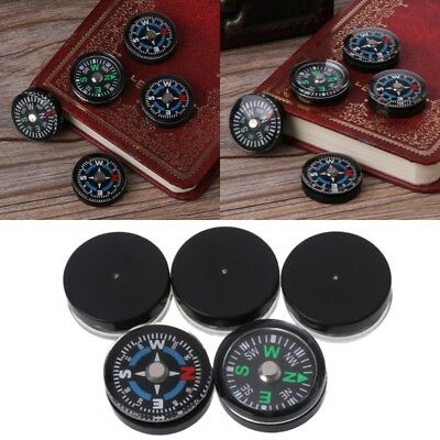 5pcs 18mm Portable Compasses Mini Camping Travel Hiking Guider Survival Compass