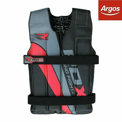 RDX 18KG Weighted Vest - Red.