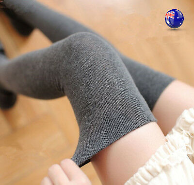 Women Lady Girl Warm Thigh High Over Knees Stockings Pantyhose Tights Long Socks