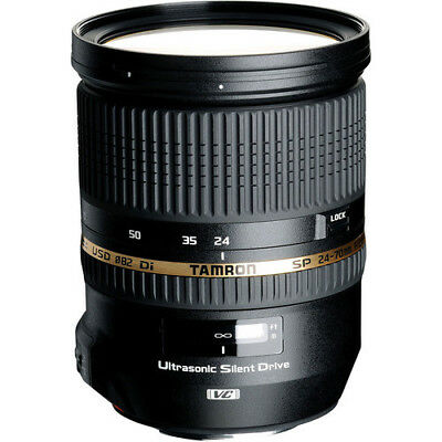 Tamron SP 24-70mm f/2.8 DI VC USD Lens - Canon Mount
