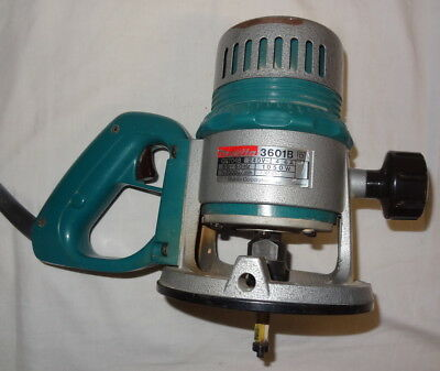 Makita Japan 3601B 12.7mm 1/2 Inch Heavy Duty D Handle Router Free Postage