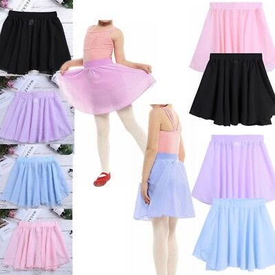 Baby Girl Gymnastic Dancing Ballet Skirt Tutu Dress Kid Party Dancewear Costume