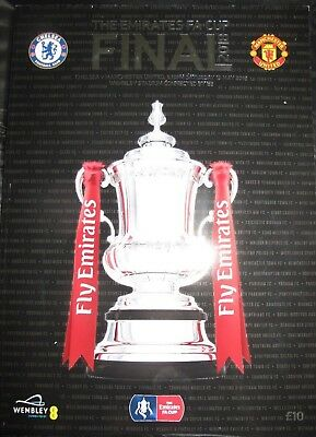 2018 Fa Cup Final Official Programme Chelsea V Manchester United