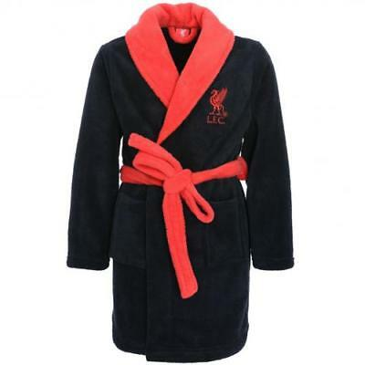 Liverpool Fc Boys Girls Kids Dressing Gown 3-5 yrs Bath Robe Childrens Childs