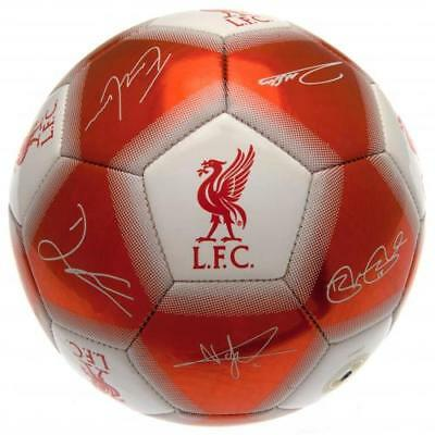 Liverpool Fc Football Player Signature Autograph Signed Soccer Ball  Size 5