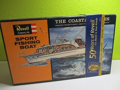 122S - Revell H-387 : 100 - Bausatz Fishing Boat - top in OVP