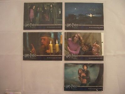 Harry Potter & The Prisoner of Azkaban Promo Card Inc. Non Foil Trading Card Set