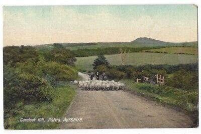 PATNA Carclout Hill, Ayrshire, Old Postcard by AD Henderson, Unused