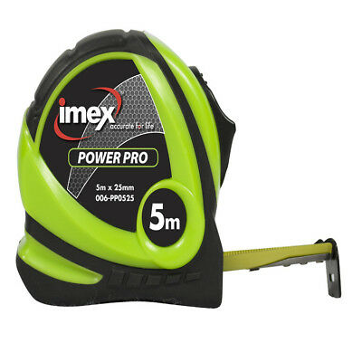 Imex 5m Tape Measure 25mm Double Sided Blade