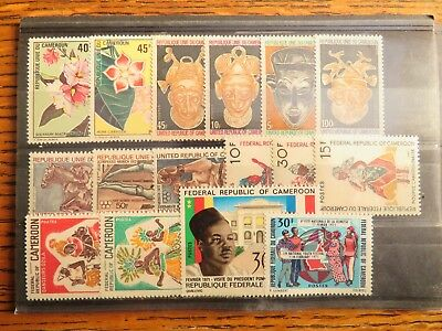 Cameroun, Series Completes Luxes** A 1 €