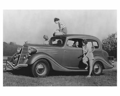 1935 Hudson Terraplane Deluxe Touring Brougham Photo ch6632
