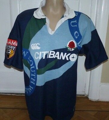 New South Wales Rugby Shirt Jersey Size X Large 44-46 Inch Chest