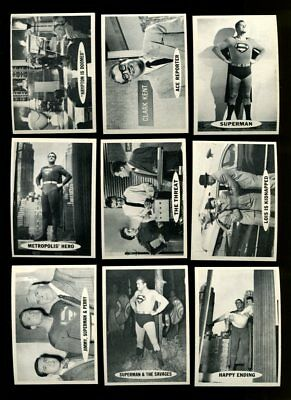 1966 Superman Near Complete Set 61/66 Nm *100368