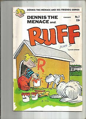 Dennis The Menace And His Friends #7  Ruff  Fawcett  1970