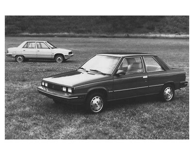1983 Renault Alliance Sedan Automobile Factory Photo ch8500