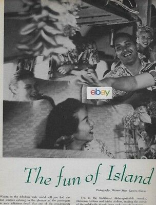 Hawaiian Airlines & Aloha Airlines Island Hopping By Air Is Fun Article Cv-340