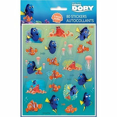 FINDING DORY #DORY7 TWO SHEETS OF BEAUTIFUL STICKERS DISNEY PIXAR