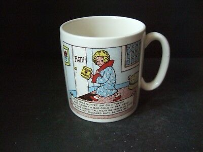 Vintage Lord Nelson Colman's Cup  Miss Muffet Polar Bear VGC