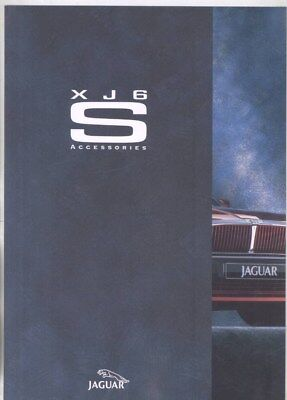 1994 Jaguar XJ6 S Accessories Brochure wz2995