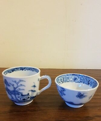 Very Rare Old Oriental Designed Tea Cup And Bowl