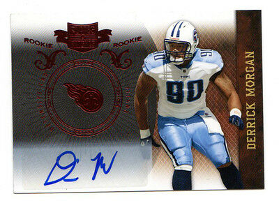 Derrick Morgan Nfl 2010 Panini Plates And Patches Autograph (Tennessee Titans)