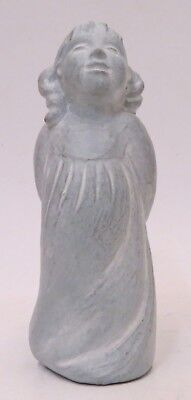 "1999 RETIRED Isabel Bloom ""SM PACKAGES"" 5"" Angel Cement Sculpture"