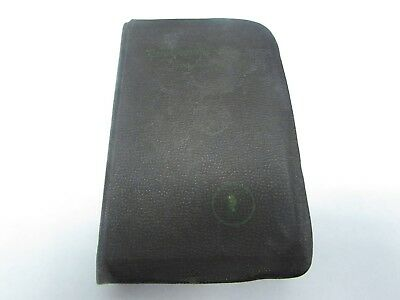 WWII U.S. Army AC vets Bible ID'ed to veteran suitcase fresh.