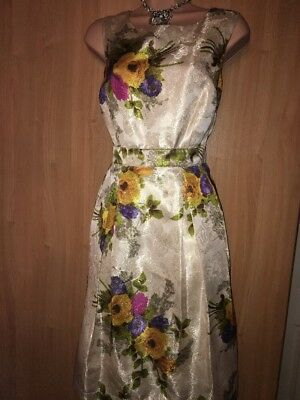 Monsoon Evening Mother Of The Bride Dress 14 Bnwt