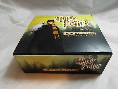 Harry Potter And The Sorcerer's Stone Widescreen Trading Cards Complete Box