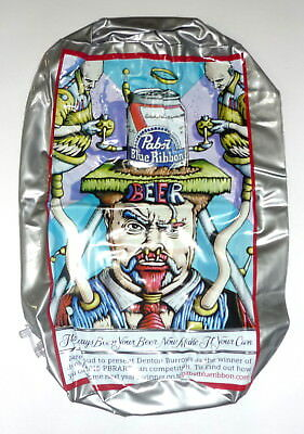 "PBR Pabst Blue Ribbon Beer 18"" Inflatable Can Tallboy Art Artwork Signage Sign"