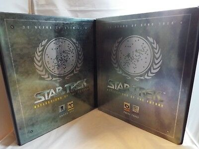 Star Trek 30 Years Phase 1 And 3 Collectors Binders