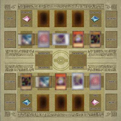 Yu-gi-oh Card Rubber Play Mat Egypt Type 60 × 60cm Link summon Correspondence