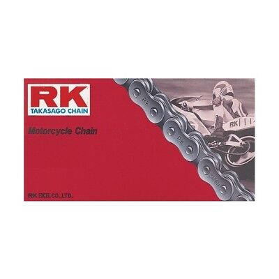 RK M520 Pitch Motorcycle ATV Natural Non O-Ring Chain X 114 LINKS