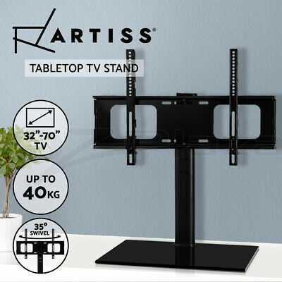 Artiss TV Stand with Mount Table Top Swivel Bracket Desktop 32 to 70 inch LED